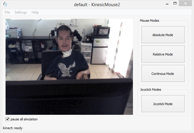 Quoc from the US using the KinesicMouse